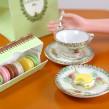 Mini Vintage OJ Tea Set for 1:6 Dolls